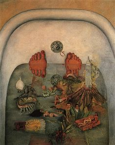 Frida Kahlo, What the Water Gave Me, 1938 Oil on canvas