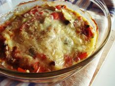 Cheeseburger Chowder, Lasagna, Macaroni And Cheese, Lunch, Cooking, Ethnic Recipes, Eggplants, Food, Greek