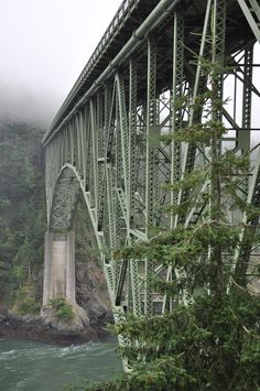 Deception Pass, Washington State been here before cause my family lives there but I want to go back.