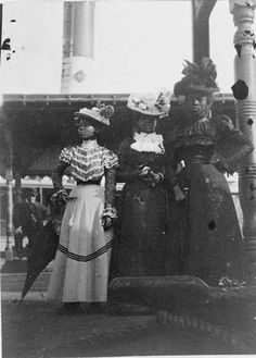 Names unknown. Frances Benjamin Johnston, Photographer (1903) 20th Century Portraits   Black Vintage