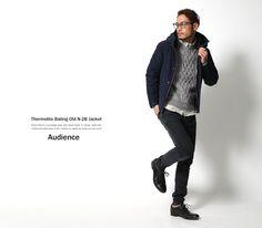 【Audience/オーディエンス】割繊糸オールドN2B中綿ジャケット