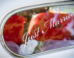wedding car decoration – Etsy