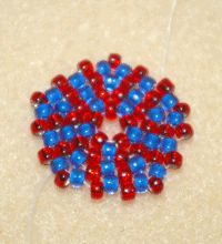 How to Do Circular Flat Peyote Stitch - Beading Instructions - Beading Daily