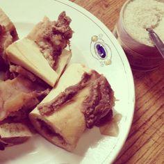 Pot au feu maison : les indispensable os à moelles - homemade Stew : the essential bone marrow #cuisine #food #faitmaison #os #moelle #boeuf #viande #grossel #entrée #français #salé