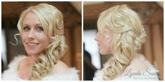 Beautiful winter bride #hair #weddinghair #hairup #plaits #curls #bride #bridalhair #bridalhairandmakeup #bridal #longhair #hairstylist #makeupartist  #weddingday #essexhair #curls #lovehairtribemember