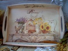 decoupage & transfer ideas