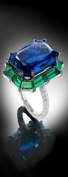 de GRISOGONO ♥✤ sapphire ring | LBV