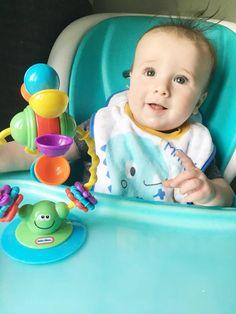 Little Tikes Sensory High Chair Toy Review - www.adizzydaisy.com