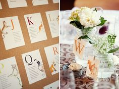 table seating wedding
