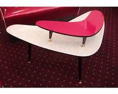 retro boomerang table!...yuck, I couldn't stand this kind of furniture back then, and haven't changed my opinion at all!!!!