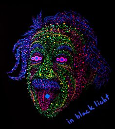 Great Scientist tongue out psychedelic t-shirt by Andrei Verner