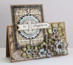Designs by Marisa: Heartfelt Creations - You Inspire Me Card