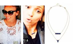 Guiliana Rancic- (TV Personality-E! News) wearing the Element Necklace while out in LA.