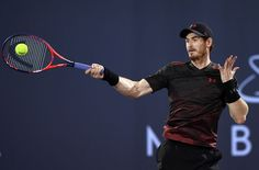 December 30 2017 - Andy Murray returned to tennis after a longstanding hip injury, playing a one-set exhibition match against  Roberto Bautista Agut in Abu Dhabi