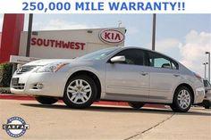 2011 Nissan Altima, 44,556 miles, $15,400.