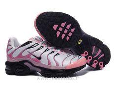 7dac29a488716 Chaussures de Nike Air Max Tn Requin Femme Argent et Rose Nike Tn Chine