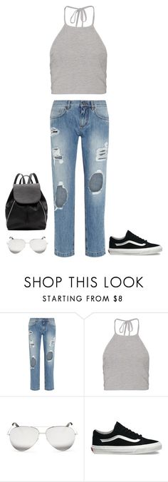 """""""Hello"""" by wardrobe-iii ❤ liked on Polyvore featuring Dolce&Gabbana, Boohoo, Victoria Beckham, Vans and Witchery"""