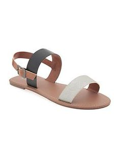 Faux-Leather Metallic Sling-Back Sandals for Girls Girls Easter Dresses, Shop Old Navy, Back To School Shopping, Maternity Wear, Shoe Shop, Cute Shoes, Baby Love, Girls Shoes, My Girl