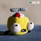"""Introducing unique amigurumi pattern of Fish Edward! Amazing present for any """"Little Big Fish"""" fan or your child. Edward is a main hero of a popular game """"Little Big Fish""""."""
