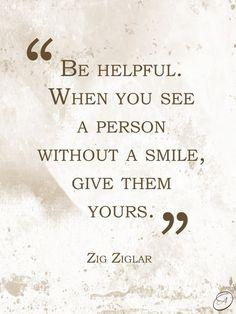 Be helpful!     : )