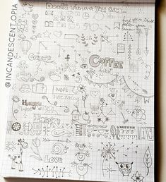 Practice doodles for my hobonichi planner when it arrives :)