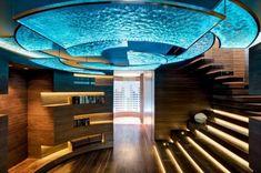 Futuristic Hallway Design
