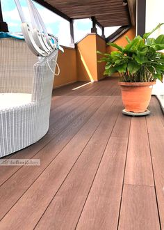 Reinvent the design of your patio or balcony with one of our composite wood deck designs in Singapore. Contact us today to learn more. Outdoor Decking, Wpc Decking, Outdoor Areas, Wood Deck Designs, Composite Decking, Balcony, Tile Floor, Composition, Flooring