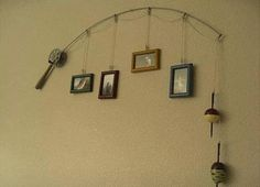 If you like fishin, then what's a better way to hang up those memories of the water?