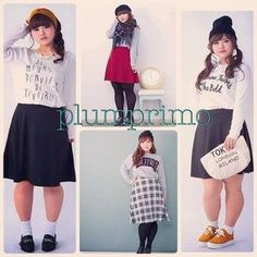There's also a new clothing line called Plumprino. [Japan's First Plus-Size Fashion Magazine Is Breaking Traditions]