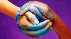 Earth Hands Wallpaper