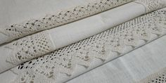 Vintage 80s Crochet Small Tablecloth Square, 85x85cm / 33.5x33.5in Crochet Border Patterns, Large Tablecloths, Table Toppers, Vintage Crochet, Cross Stitch, Delicate, Colours, Rustic, Handmade