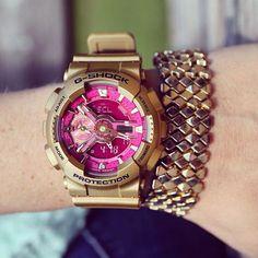 Add_a_little_gold_to_your_wardrobe_gold_casio_watches_wristcandy_gshockforher