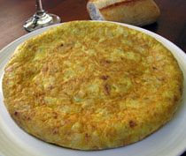 Spanish Potato Omelet - Tortilla de Patata
