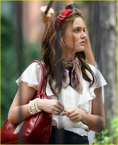 Gossip Girl Blair Waldorf Fashion Inspiration: Bows and Hairbands