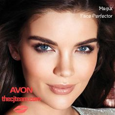 "MagiX Face Perfector. Avon. Upgraded formula! Is it makeup? No, it's MagiX! Avon's exclusive HD Finish Complex provides the ""magic"" in this colorless skin-perfector. A revolutionary colorless gel-to-powder formula provides invisible coverage for a naturally flawless finish and keeps skin looking naturally matte for 7 full hours. Regularly $12. #Avon #C9 #Sale #CJTeam #Magix #Redbook #InTheNews #Makeup #Avon4Me #Compare #Save Shop Avon Makeup online @ www.TheCJTeam.com"