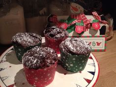 Christmas Nutella brownies  perfect warm with fresh cream