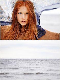 Julie Hansen...red hair, I love it~
