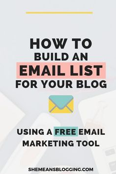 Digital marketing infographic & data visualisation How To Build An Email List For Beginners & Grow It Everyday Infographic Description Learn how to build Best Email Marketing, Email Marketing Design, Email Marketing Campaign, Email Marketing Strategy, E-mail Marketing, Email Design, Marketing Digital, Internet Marketing, Content Marketing