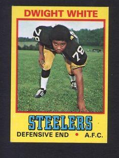 1974 Wonder Bread Football 27 Dwight White Pittsburg Steelers | eBay
