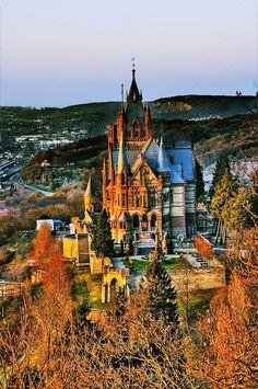 Dragon castle, Germany, Drachenburg