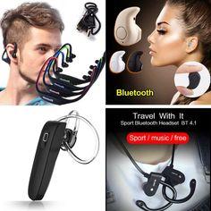 Bluetooth Earphone 4.0 Auriculares Wireless Headset Handfree Micro Earpiece for Globex GU903C BT Tablet fone de ouvido