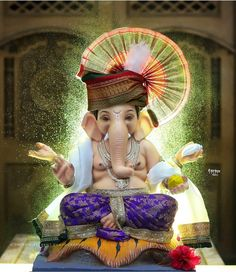 Shri Ganesh Images, Ganesha Pictures, Clay Ganesha, Ganesha Art, Lord Ganesha Paintings, Lord Shiva Painting, Ram Navami Photo, Indian Goddess Kali, Durga Goddess