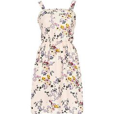 I love this print! But it would have to have sleeves, I just don't envision straps or strapless.