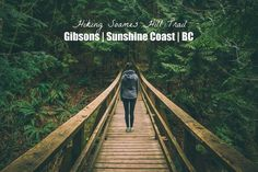 Hiking Soames Hill Trail in Gibsons Sunshine Coast BC British Columbia Canada | Perogy and Panda | perogyandpanda.com