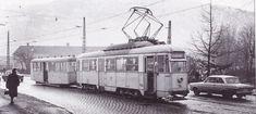 18 desember 1965 tok Trygve Schønfelder dette bildet som er hentet fra Bergens sporveis historie