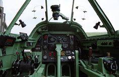 Bristol Beaufighter Cockpit Picture.