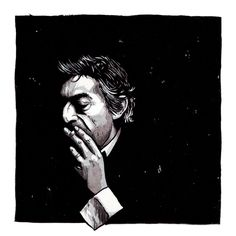 Serge Gainsbourg by Mat Pringle