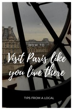 Top 10 Things to do in Paris - tips from a local so you can travel to Paris like a local! Paris Tips, Paris Travel Tips, Europe Travel Tips, European Travel, Travel Guides, Travelling Europe, Road Trip France, France Travel, Backpacking Europe