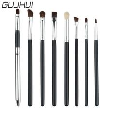 49f2255341e GUJHUI New Make up 4 5 7 8 Pieces Comestic Makeup Brushes Tool