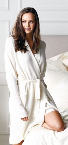 Relax in the cozy warmth of our exclusive Cashmere Robe. Knitted from exquisite 12-gauge, two-ply cashmere, this soft, lightweight robe makes an elegant gift that will be appreciated over and over again.